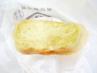 八天堂のクリームパンの断面