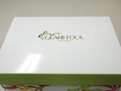 グランフールのマカロンの箱