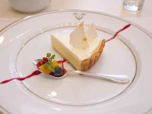 ディアーヌのチーズケーキ (200911サロン・ド・テ・ミュゼ イマダミナコ)