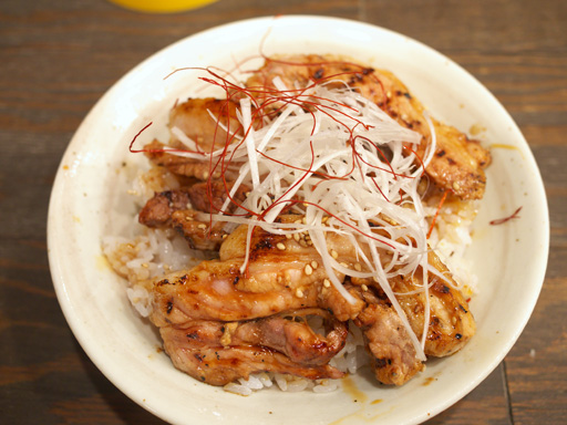 エビスコ丼(ハーフ)
