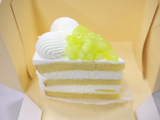 スーパーメロンショートケーキ(201001@パティスリーSATSUKI)