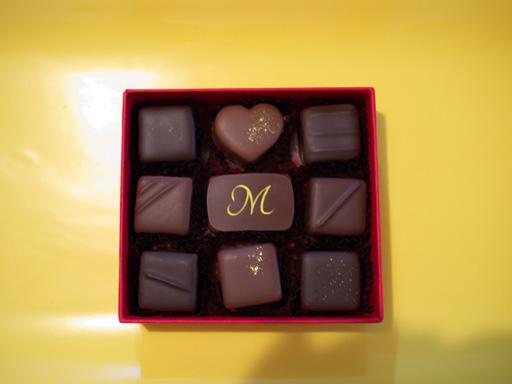 ボンボンショコラ9種類(201002@ショコラティエミキ)