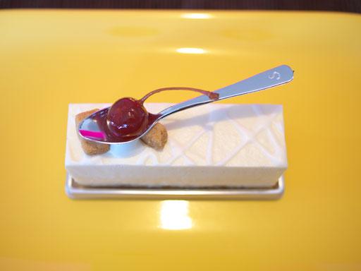 ダブルチーズケーキ(201008@ピエール・ガニェール パン・エ・ガトー)