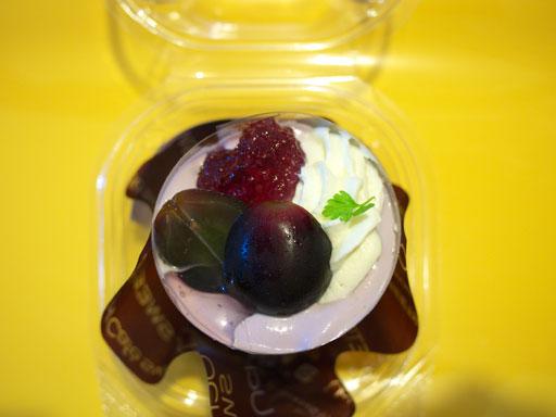 プラチナケーキぶどうのムース(201008@ローソン)