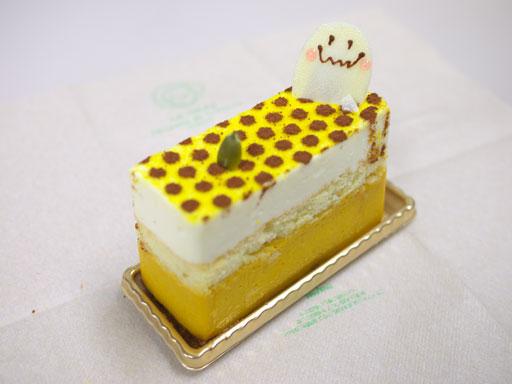 北海道かぼちゃのチーズケーキ(201011@渋谷東急フードショー)