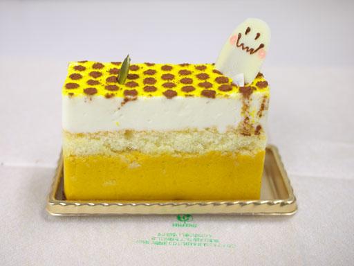 北海道かぼちゃのチーズケーキ(201011@ラテールセゾン)横から