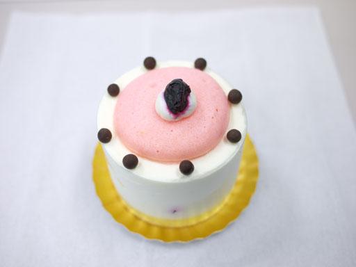 長野産ブルーベリーのショートケーキ(201012@カオリヒロネ)上から