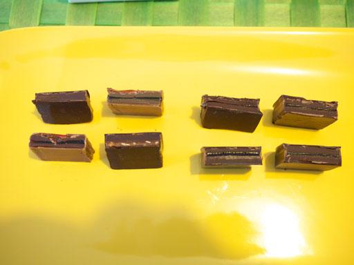 ファブリスジロットのショコラ(201102@ファブリスジロット)斬ってみた
