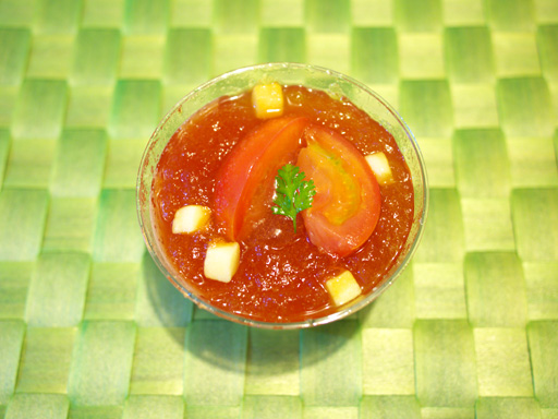アメーラトマトとチーズのスイーツ(201104@ローソン)