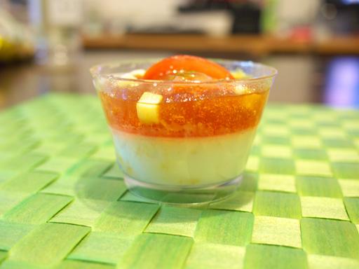 アメーラトマトとチーズのスイーツ(201104@ローソン)横から