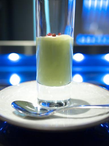 グリンピースとミントのスープ(201105@トシヨロイヅカ)
