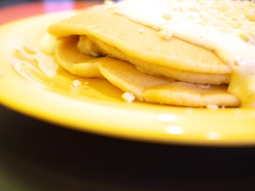 バナナパンケーキwithキモズ・マカデミアナッツソース(201106@ブーツ&キモズ)横の厚さ