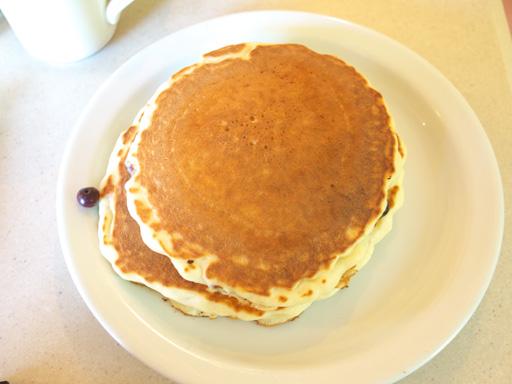 バターミルクパンケーキ(201106@カフェハレイワ)上から