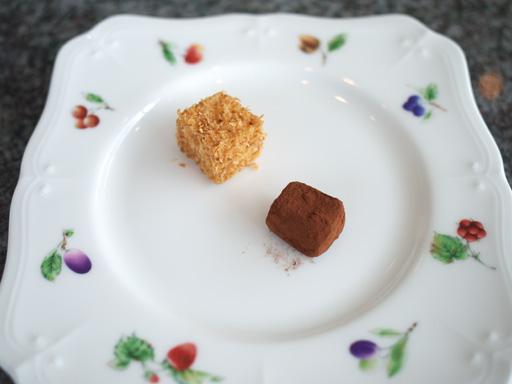ココナツのギモーブと生チョコ(201110@チカリシャス ニューヨーク アマリージュ)