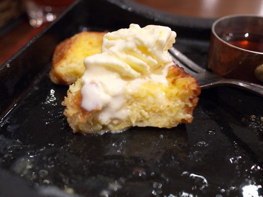 鉄板フレンチトースト(201111@恵比寿カフェ)アイス乗っけた