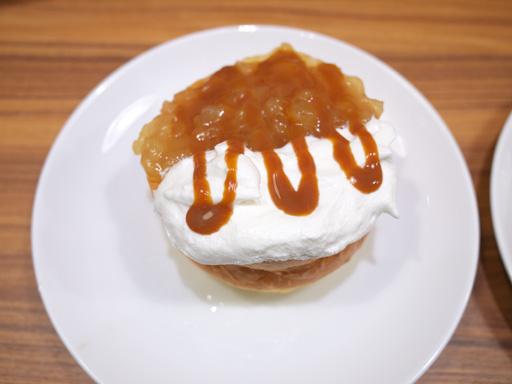 厚焼きホットケーキ(201204@MOSDO)キャラメル&アップル上から