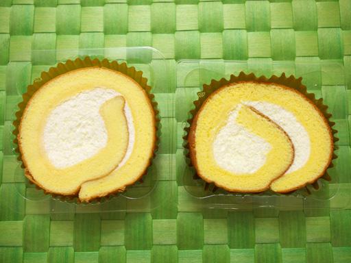 コンビニ夏の新作ロールケーキ食べ比べた(201207@コンビニ)セブンイレブン開いた
