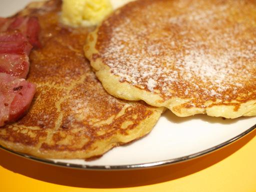 ホノルルパンケーキ(201209@SUNDAY JAM)パンケーキのアップ