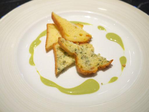 ケークサレ2種:長芋と野沢菜
