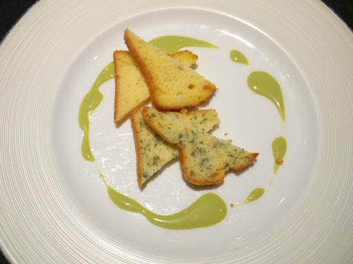 ケークサレ2種:長芋と野沢菜上から