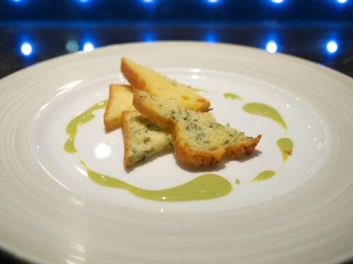 ケークサレ2種:長芋と野沢菜横から