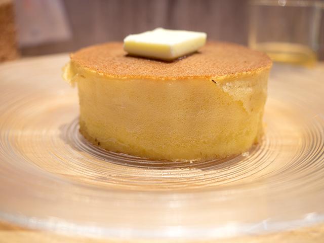 発酵バターのパンケーキ(20140604@雪ノ下)は厚い