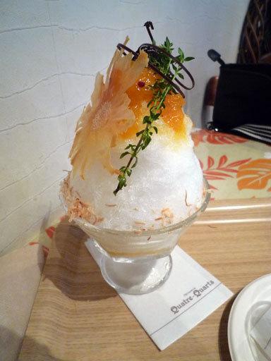 かき氷アルティナザルパラディ