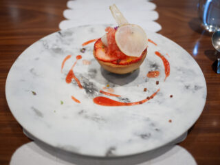 苺と蕪のクリームシチュー