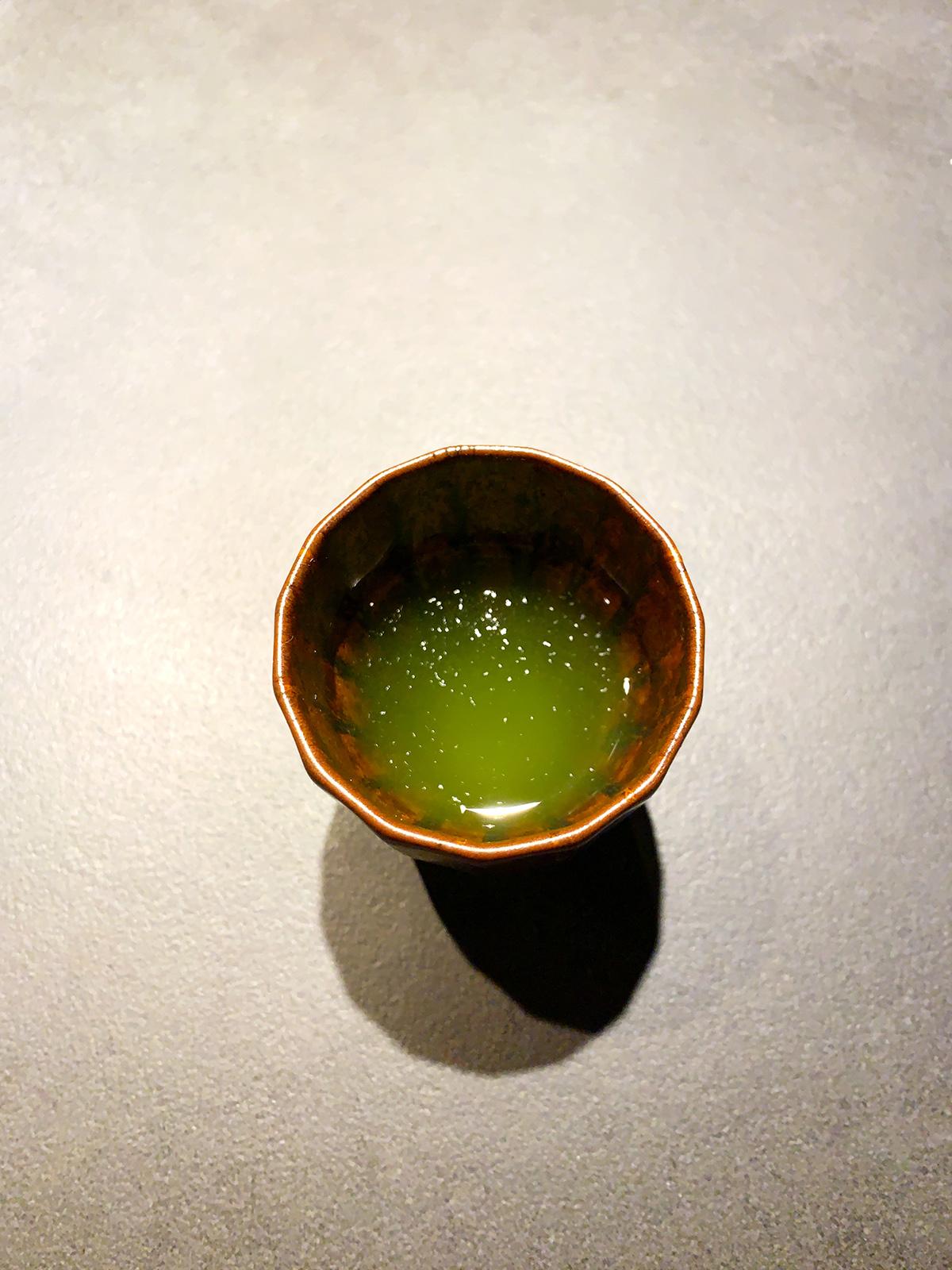 非焙煎の新茶
